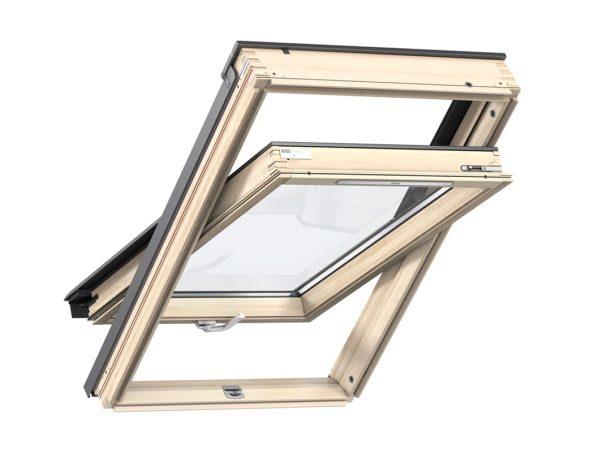 Покривен прозорец с долно управление