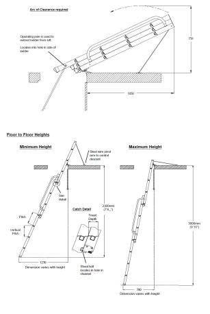 Таванска стълба EASYWAY